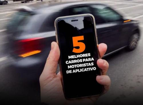 5 melhores carros para motoristas de App